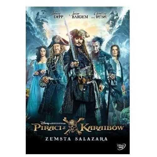 Piraci z karaibów: zemsta salazara (dvd) marki Galapagos