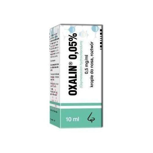 Oxalin 0,05% krople 10ml Polfa warszawa