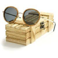 Drewniane okulary przeciwsłoneczne Niwatch Libra
