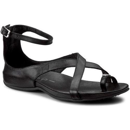 Sandały NESSI - 19210 Czarny 3, kolor czarny