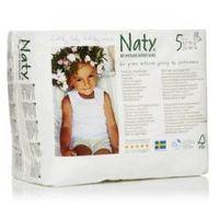 Naty nature babycare ekologiczne pieluchomajtki 5 (12-18kg) 20 szt (7330933031349)