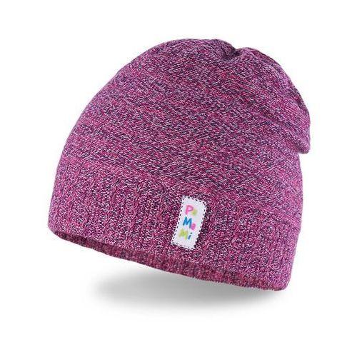 Wiosenna czapka dziewczęca PaMaMi - Fioletowy - Fioletowy, kolor fioletowy