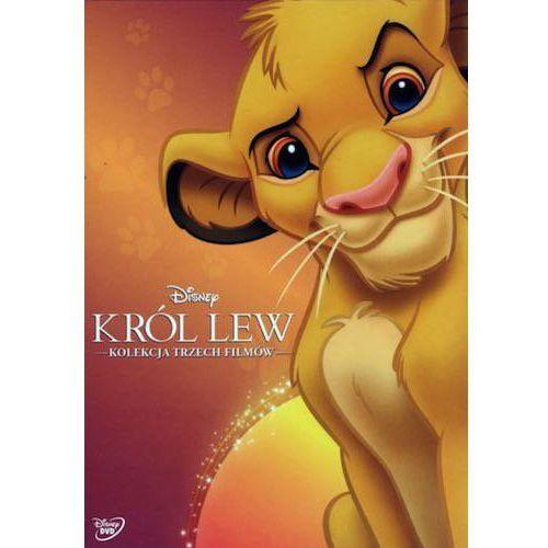 KRÓL LEW PAKIET 3 FILMÓW (3 DVD) (Król Lew, Król Lew II: Czas Simby, Król Lew 3: Hakuna Matata) (Płyta DVD) (7321917504171)