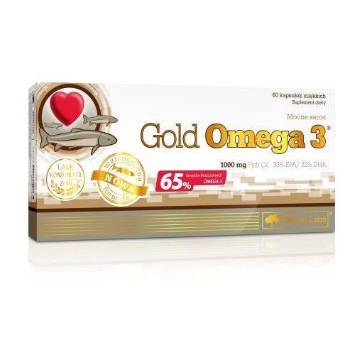 Olimp Gold Omega 3 1000mg 65% kwasów Omega-3 60 kaps.