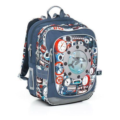 Plecak szkolny chi 791 q - tyrquise marki Topgal