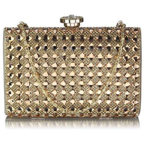 abb1179b38689 ▷ Złota kryształowa torebka wizytowa GOLD - złoty (WIELKA BRYTANIA ...