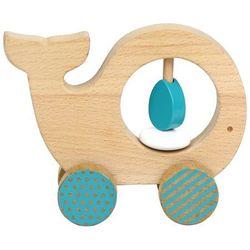 zabawka drewniana wieloryb marki Petit collage