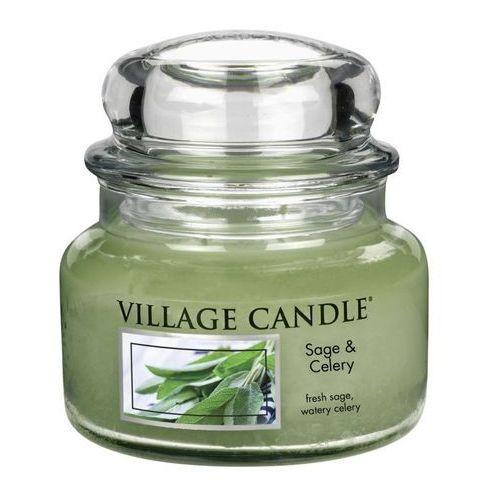 świeczka zapachowa świeża - sage celery, 269 g, 269 g Village candle