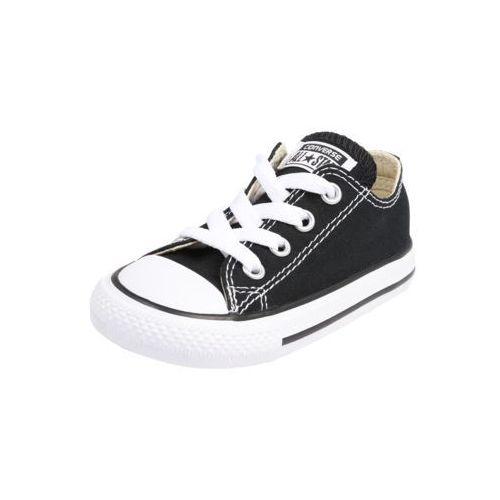 CONVERSE Trampki 'Chuck Taylor All Stars OX' czarny / biały, kolor czarny