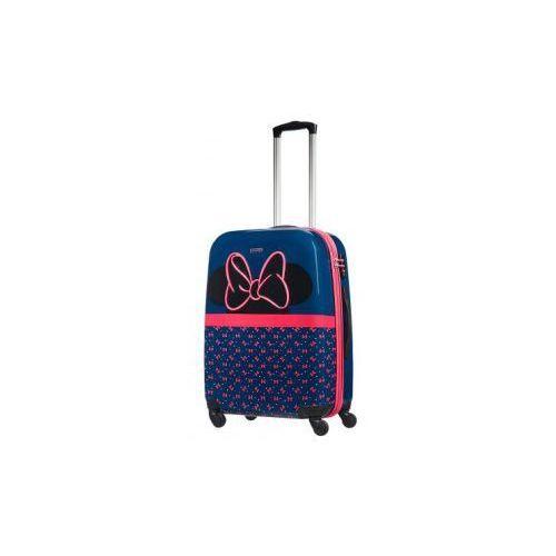 104c0bde3bba9 SAMSONITE walizka mała/ kabinowa S z kolekcji DISNEY ULTIMATE 2.0 Minnie  Neon materiał ABS/