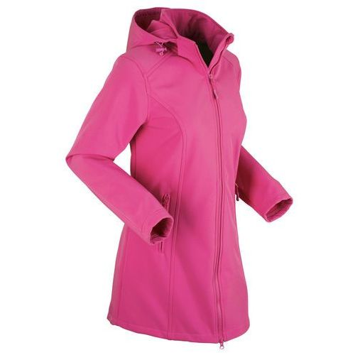baeefa127f757 Parka softshell bonprix różowa magnolia, elastan ceny opinie i ...