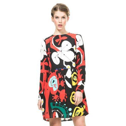 Desigual sukienka damska 42 wielokolorowy (8434101737107)