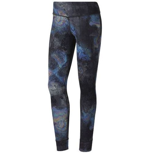 Legginsy Reebok lux Bold Tight- Oil CY3114, kolor czarny