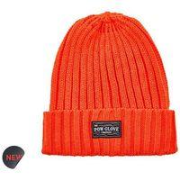 czapka zimowa POW - Wharfie Beanie Red Orange (RO)