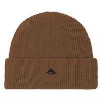 czapka zimowa EMERICA - Triangle Beanie Brown (200)