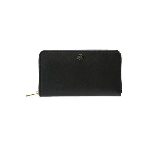 Tory Burch ROBINSON ZIP CONTINENTAL WALLET Portfel black