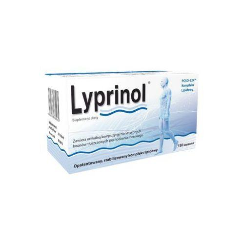 Lyprinol kaps.elast.(żelatynowe) 0,24 g 180 kaps