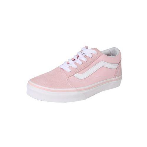 trampki 'old skool' różowy pudrowy / biały marki Vans