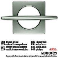 Klamra dek. KWADRO duża rustikal drewnopodobna (Z) MD0050/021/025/000100/1 (2010100122326)