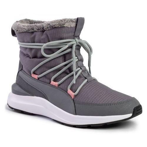 Sneakersy adela winter boot 369862 03 steel gray white (Puma)