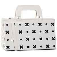 Torebka MELISSA - Magic Bag + Gato Felix 34186 White/Black 52145