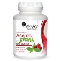 Tabletki Acerola ze Stevią do ssania, 120 tabl