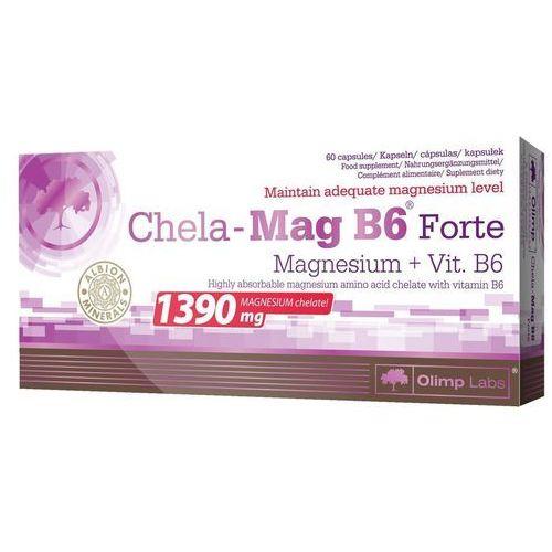 Chela-mag b6 forte 60 kapsułek, blistry Olimp