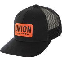 czapka z daszkiem UNION - Trucker Hat Black (BLACK)