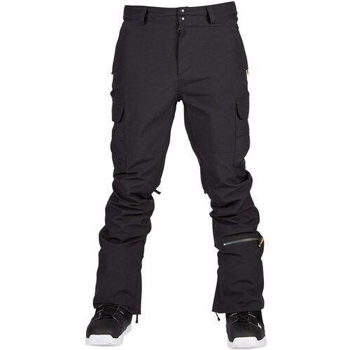 Sessions Spodnie - squadron pant black (blk) rozmiar: l
