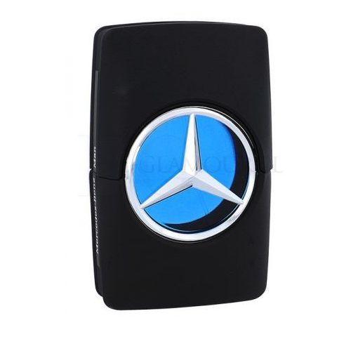 Mercedes-benz mercedes benz man woda toaletowa 100 ml tester dla mężczyzn (7775562225521)