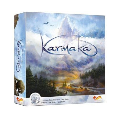 Gra karmaka - darmowa dostawa od 250 zł!! marki Foxgames