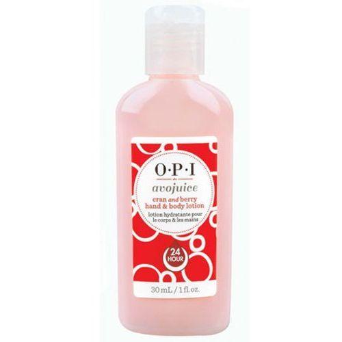 Opi avojuice cran & berry juice hand & body lotion balsam do dłoni i ciała - żurawina (28 ml) - Znakomita przecena