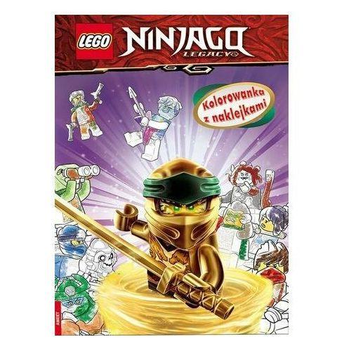 Lego ninjago kolorowanka z naklejkami na-6703