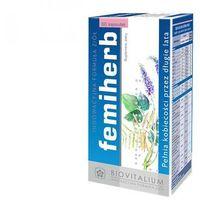 Kapsułki Femiherb (60 kaps.) - Suplement diety dla kobiet w okresie Menopauzy, Klimakterium. DARMOWA DOSTAWA OD 65 ZŁ