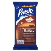 Presto 55szt ściereczki czyszczące do mebli drewnianych marki Presto clean