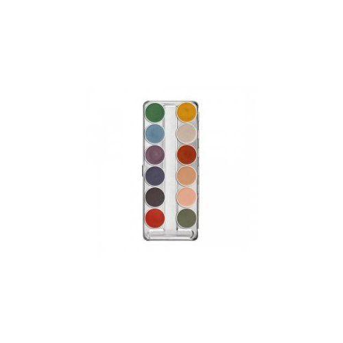 Supracolor, interferenz, paleta 12 farb do twarzy i ciała Kryolan - Najlepsza oferta