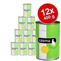 original w galarecie, 6 x 400g - sardynki| darmowa dostawa od 89 zł i super promocje od zooplus! marki Cosma