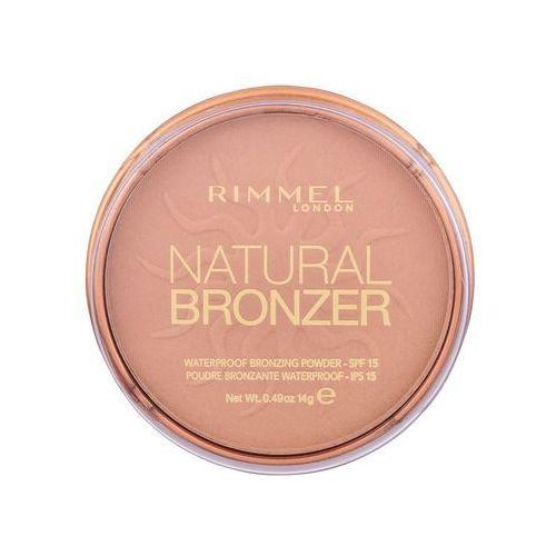 Rimmel london natural bronzer bronzing powder spf15 puder 14 g dla kobiet 022 sun bronze - Najlepsza oferta