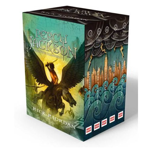 Percy Jackson i bogowie olimpijscy. Tom 1-5 (komplet) (2016)