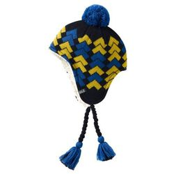 Jack wolfskin Czapka magic mountain knit hat kids - night blue