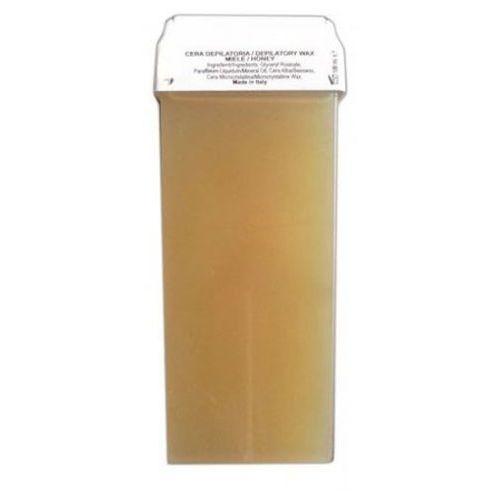 Depilatory wax green argan oil wosk do depilacji z szeroką rolką (arganowy) Skinsystem - Super rabat