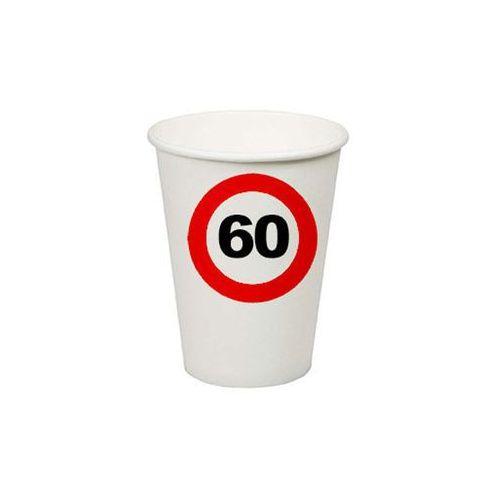 F f Kubeczki znak zakazu 60tka - 200 ml - 8 szt