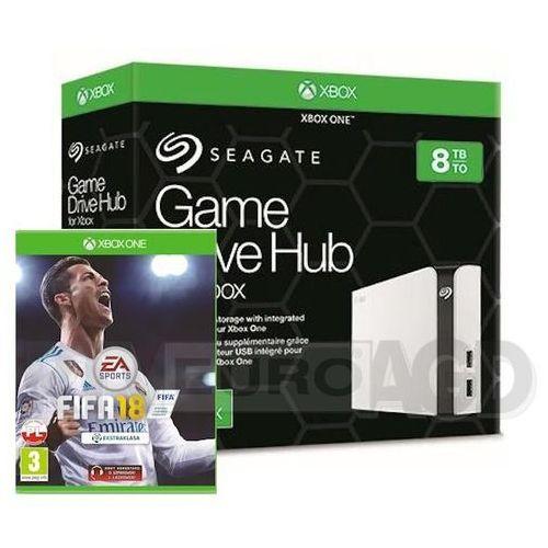 Seagate game drive hub 8tb dla xbox one stgg8000400 + gra fifa 18 (0000001132121)