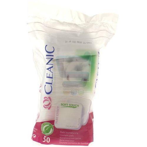 Harper hygienics Cleanic płatki kosmetyczne pure effect kwadratowe 50 szt - harper