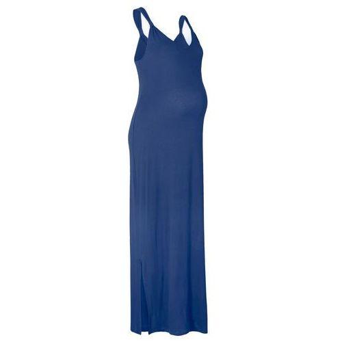 Sukienka ciążowa shirtowa bonprix kobaltowy, kolor niebieski