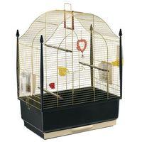 villa mosiądz klatka dla kanarków, papużki z wyposażeniem marki Ferplast