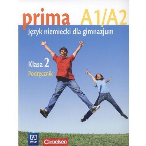 prima A1/A2. Język niemiecki dla gimnazjum. Klasa 2. Podręcznik - książka, oprawa miękka