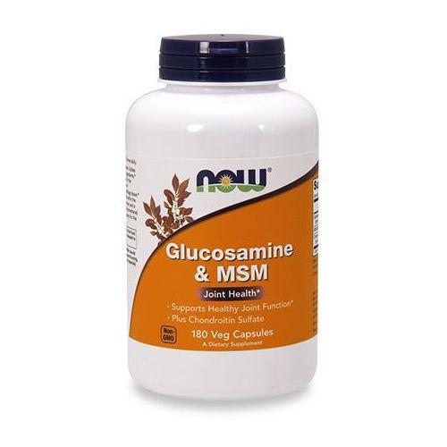 Now glucosamine & msm - 180vegcaps
