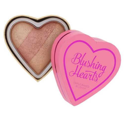 Makeup Revolution I ♥ Makeup Blushing Hearts róż do policzków odcień Peachy Keen Heart 10 g, 5029066027009
