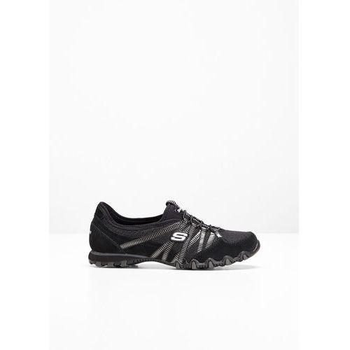 Buty wsuwane skechers czarny marki Bonprix